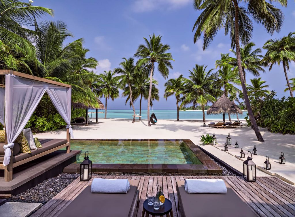 One&Only Reethi Rah Luxury Resort - North Male Atoll, Maldives - Grand Beach Villa Pool Ocean View
