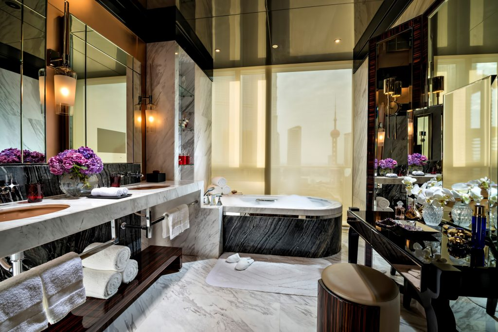 Regent Shanghai Pudong Luxury Hotel - Shanghai, China - Grand Bath