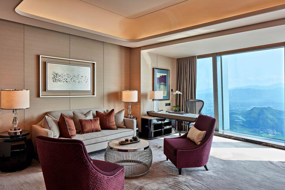 The St. Regis Shenzhen Luxury Hotel - Shenzhen, China - Caroline Suite Living Room
