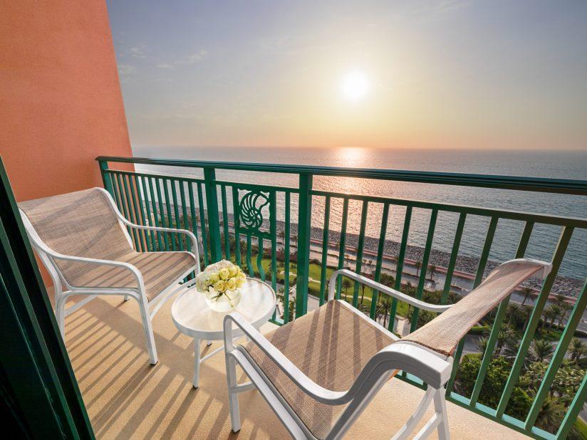 Atlantis The Palm Luxury Resort - Crescent Rd, Dubai, UAE - Ocean View Balcony