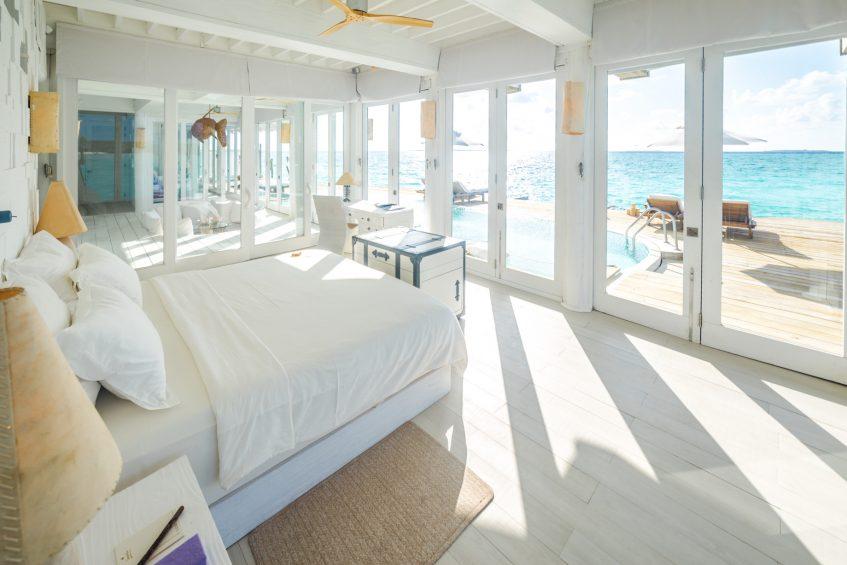 Soneva Jani Luxury Resort - Noonu Atoll, Medhufaru, Maldives - 3 Bedroom Water Reserve Villa with Slide Interior View