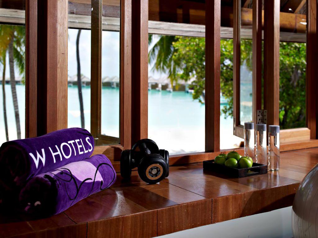 W Maldives Luxury Resort - Fesdu Island, Maldives - Fitness Center View