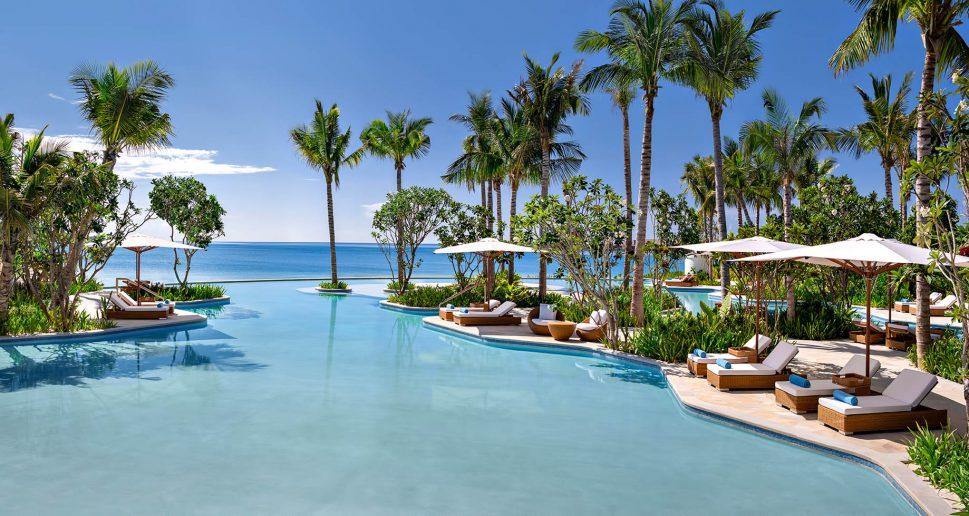Waldorf Astoria Maldives Ithaafushi Luxury Resort - Ithaafushi Island, Maldives - Resort Infinity Pool