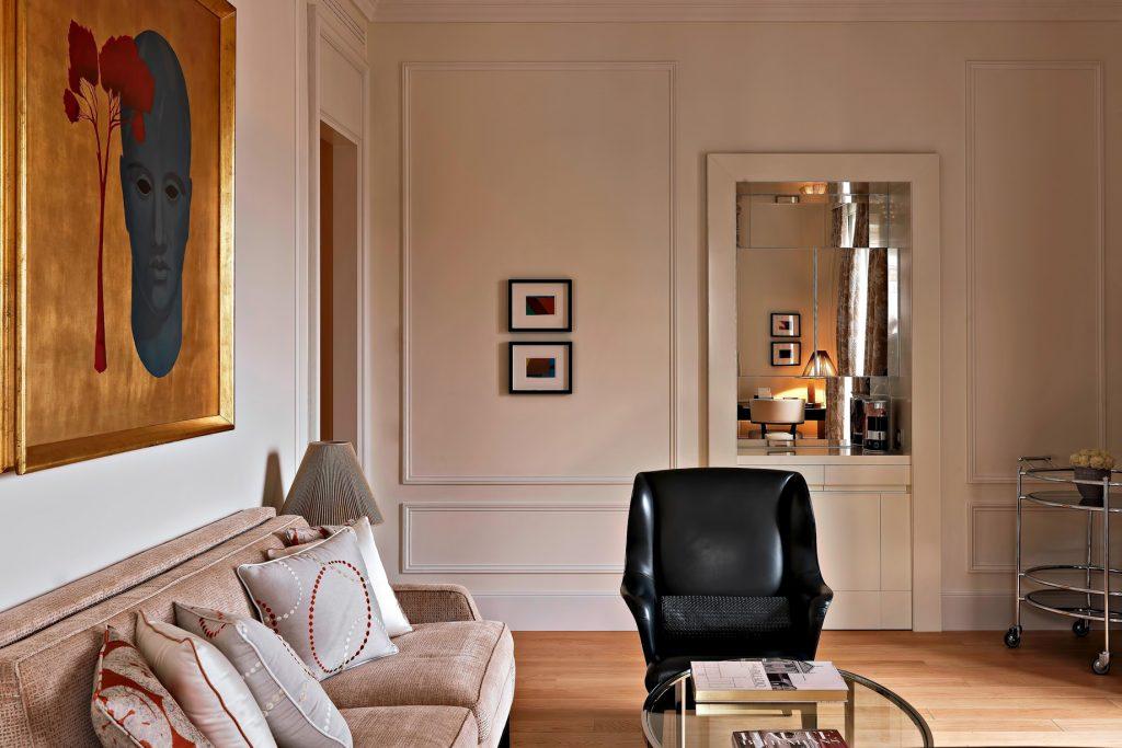 The St. Regis Rome Luxury Hotel - Rome, Italy - Astor Suite Living Area