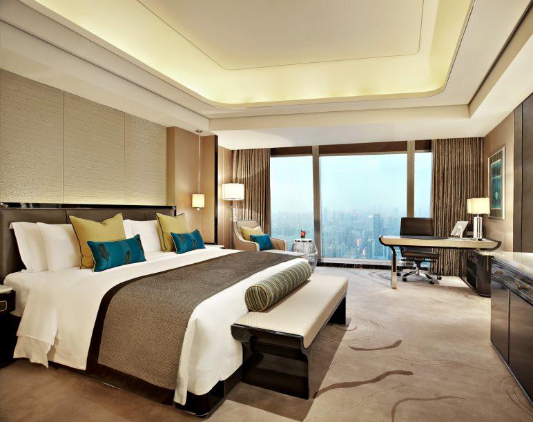The St. Regis Shenzhen Luxury Hotel - Shenzhen, China - Grand Deluxe Room City View