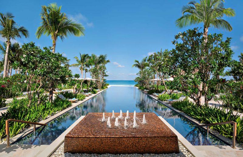 Waldorf Astoria Maldives Ithaafushi Luxury Resort - Ithaafushi Island, Maldives - Mirror Pool