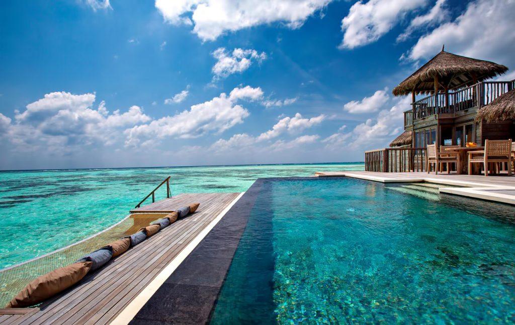 Gili Lankanfushi Luxury Resort - North Male Atoll, Maldives - Overwater Villa Infinity Pool
