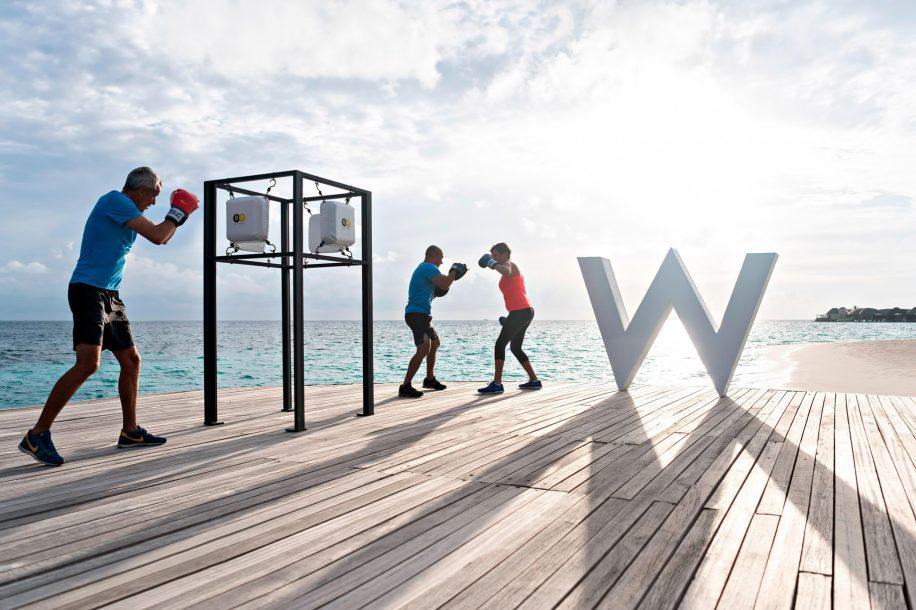 W Maldives Luxury Resort - Fesdu Island, Maldives - Sunset Boxing