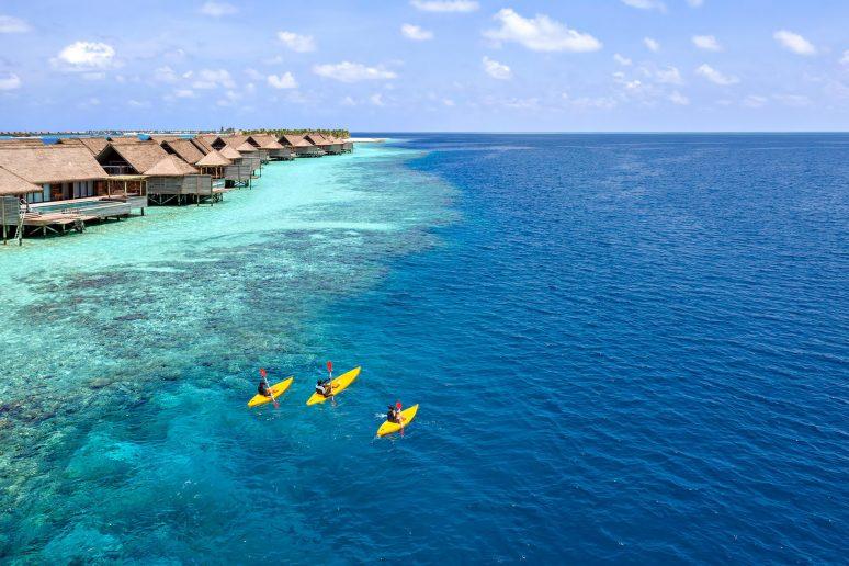 Waldorf Astoria Maldives Ithaafushi Luxury Resort - Ithaafushi Island, Maldives - Tropical Ocean Kayaking