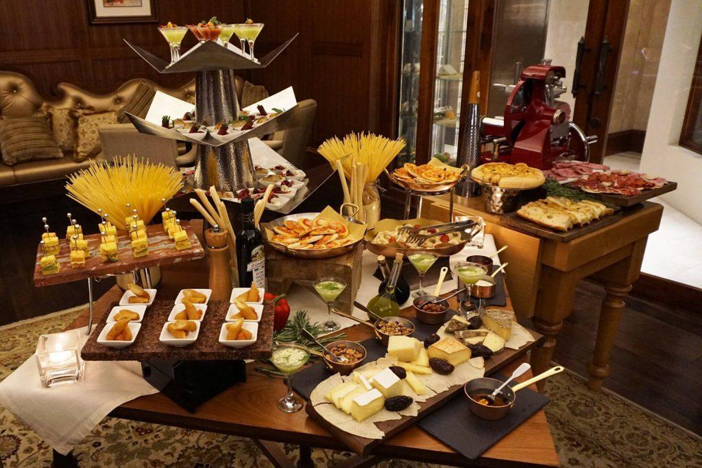 The St. Regis Abu Dhabi Luxury Hotel - Abu Dhabi, United Arab Emirates - Gourmet Appetizers