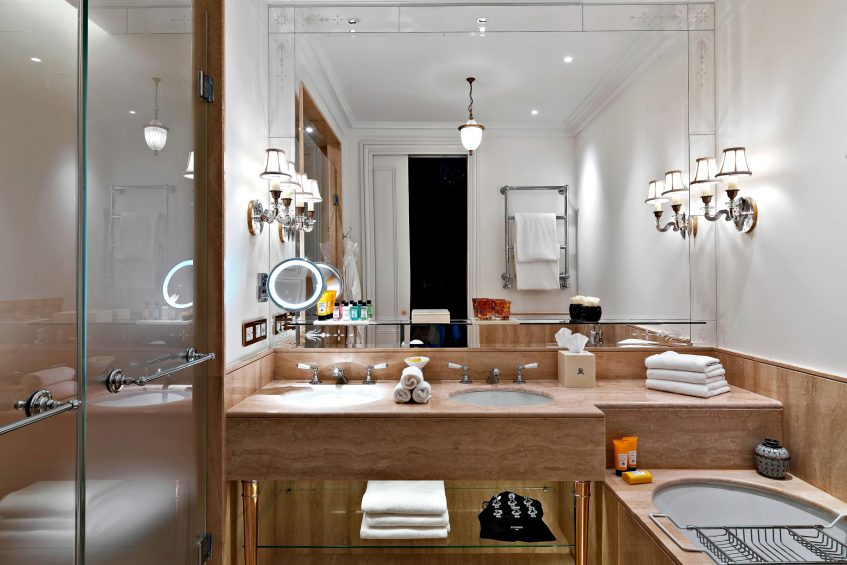 The St. Regis Rome Luxury Hotel - Rome, Italy - Astor Suite Bathroom
