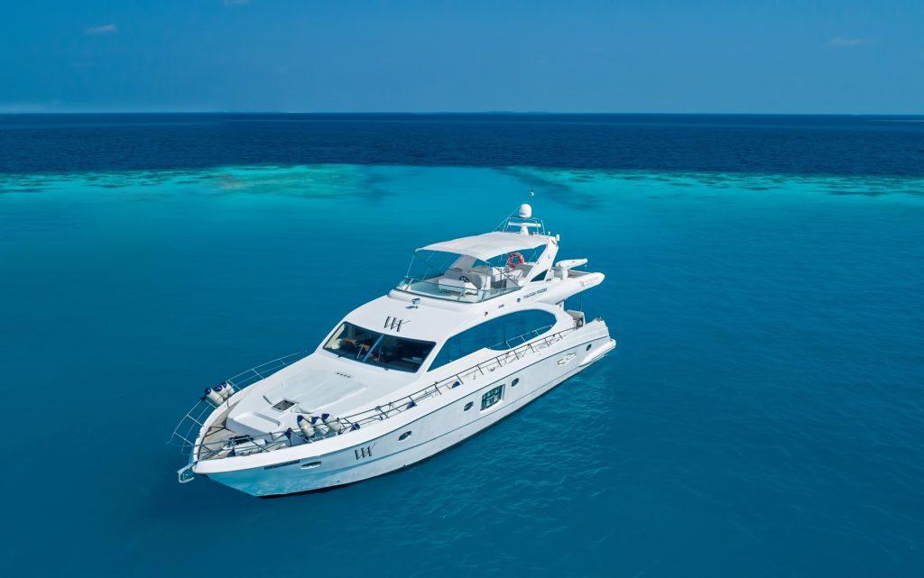 Waldorf Astoria Maldives Ithaafushi Luxury Resort - Ithaafushi Island, Maldives - WAM Yacht Majesty