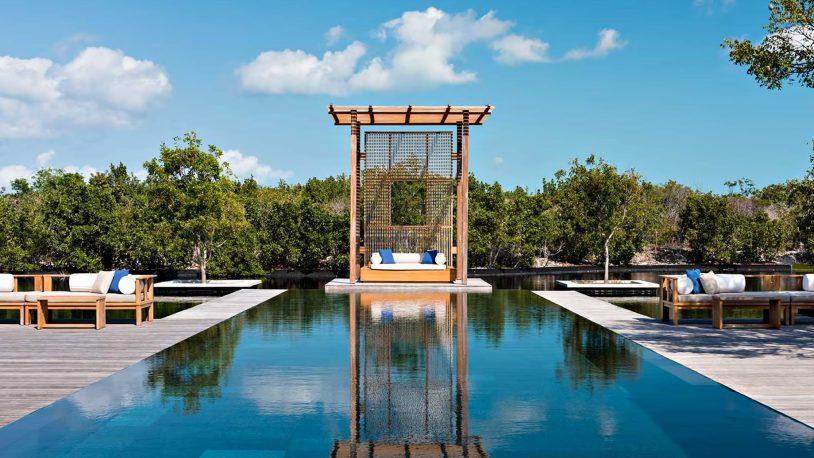 Amanyara Luxury Resort - Providenciales, Turks and Caicos Islands - 4 Bedroom Tranquility Villa Infinity Pool