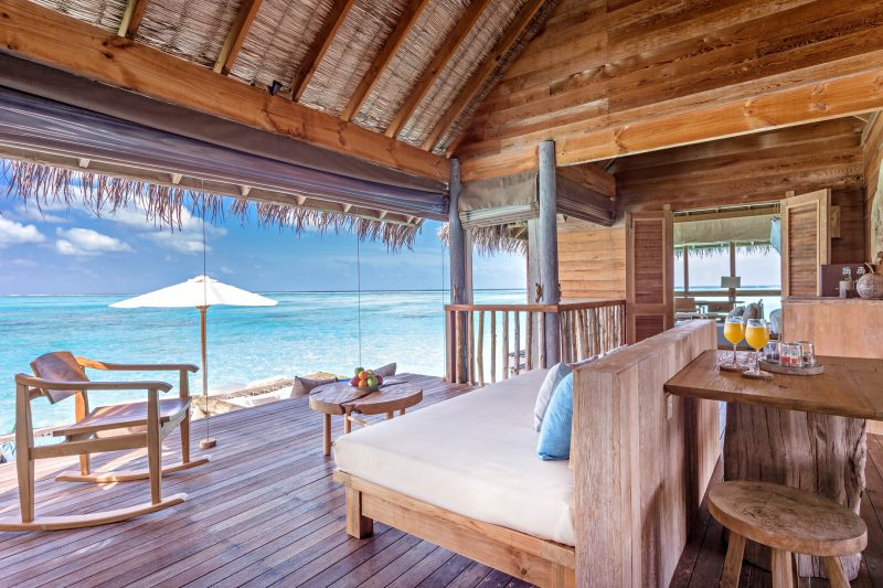Gili Lankanfushi Luxury Resort - North Male Atoll, Maldives - Overwater Villa Living Room Ocean View