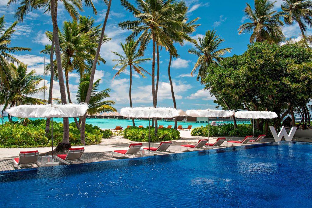 W Maldives Luxury Resort - Fesdu Island, Maldives - WET Deck