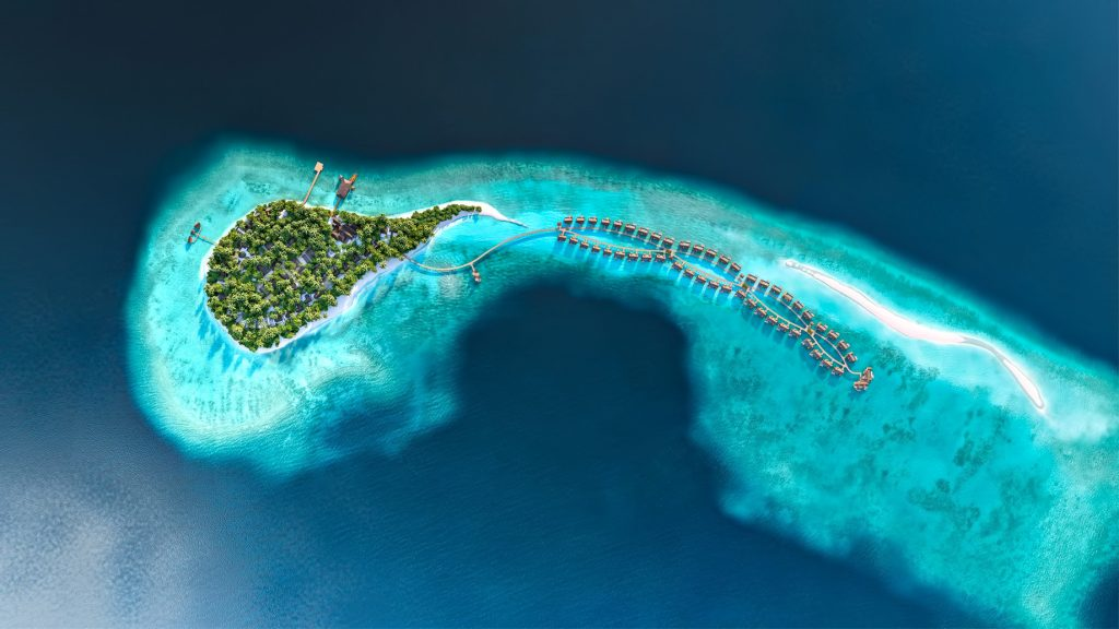 Joali Maldives Luxury Resort - Muravandhoo Island, Maldives - Resort Aerial