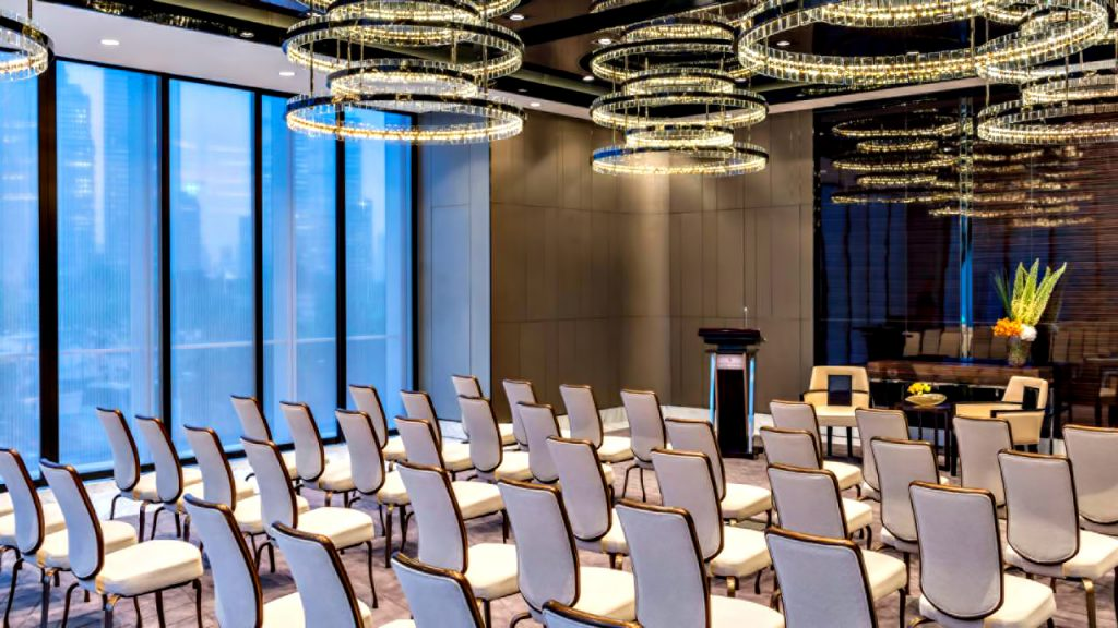 Regent Shanghai Pudong Luxury Hotel - Shanghai, China - Conference Room