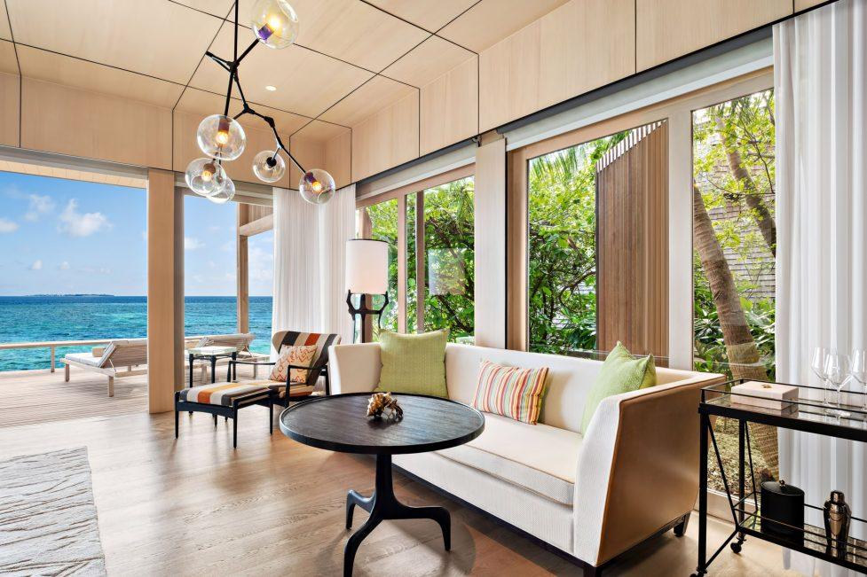 The St. Regis Maldives Vommuli Luxury Resort - Dhaalu Atoll, Maldives - Two Bedroom Beach Villa With Pool