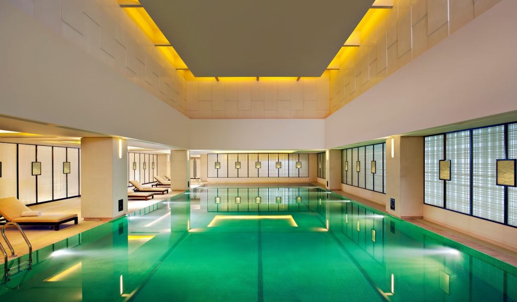 The St. Regis Tianjin Luxury Hotel - Tianjin, China - Riviera Restaurant - Pool