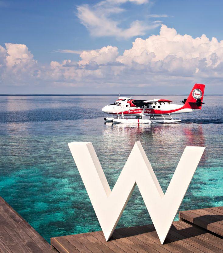 W Maldives Luxury Resort - Fesdu Island, Maldives - Seaplane