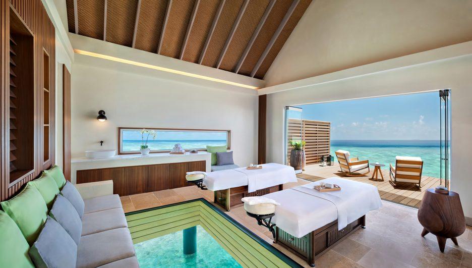 Waldorf Astoria Maldives Ithaafushi Luxury Resort - Ithaafushi Island, Maldives - Resort Overwater Spa Villa