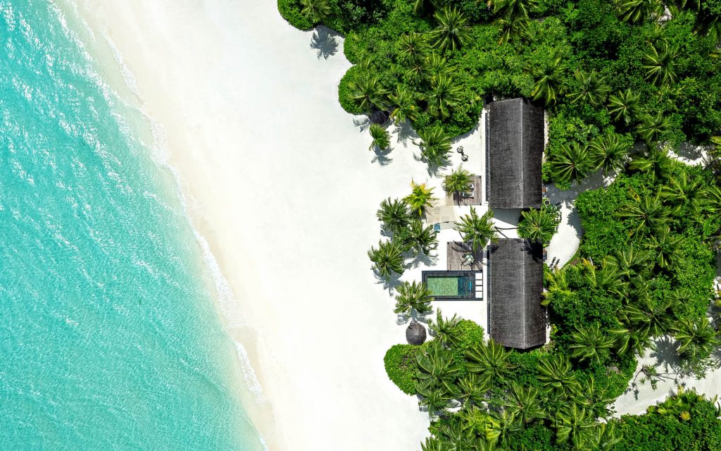 One&Only Reethi Rah Luxury Resort - North Male Atoll, Maldives - Two Villa Residence with Pool