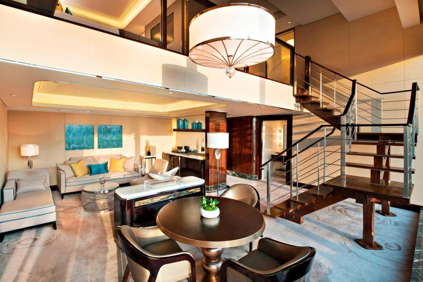 The St. Regis Shenzhen Luxury Hotel - Shenzhen, China - Metropolitan Suite