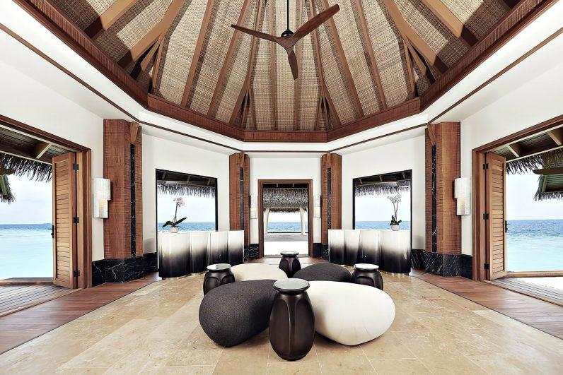 Waldorf Astoria Maldives Ithaafushi Luxury Resort - Ithaafushi Island, Maldives - Spa and Wellness Center Reception