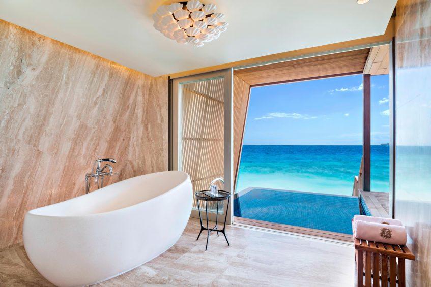 The St. Regis Maldives Vommuli Luxury Resort - Dhaalu Atoll, Maldives - Two Bedroom Beach Villa Bathroom