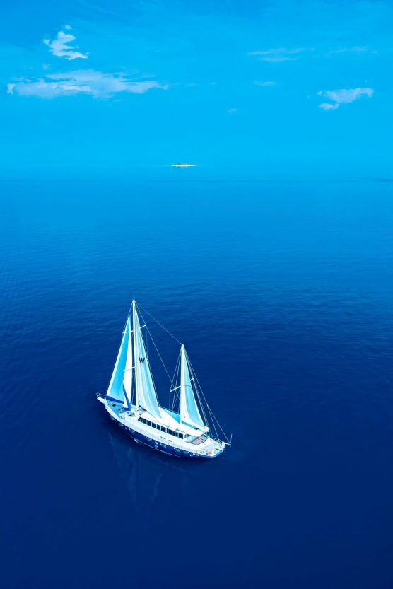W Maldives Luxury Resort - Fesdu Island, Maldives - Sailboat