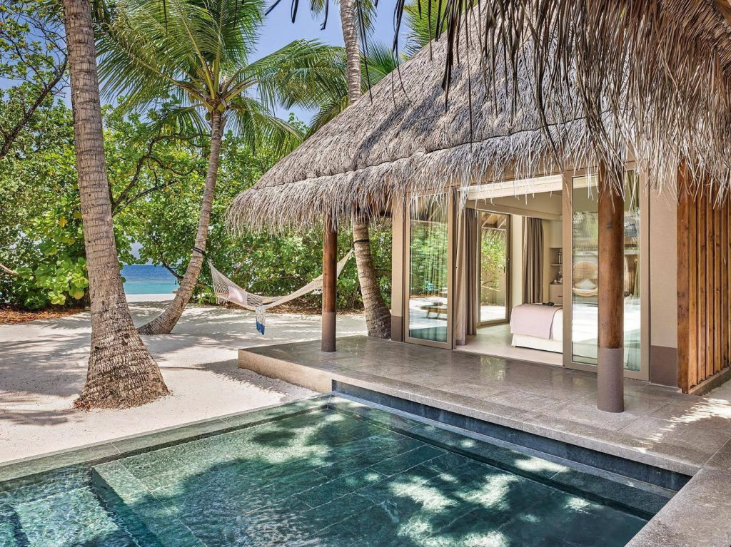 Joali Maldives Luxury Resort - Muravandhoo Island, Maldives - Beachfront Villa Hammock