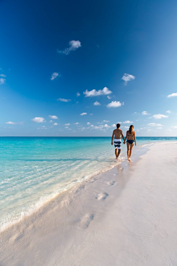 Velassaru Maldives Luxury Resort - South Male Atoll, Maldives - White Sand Beach