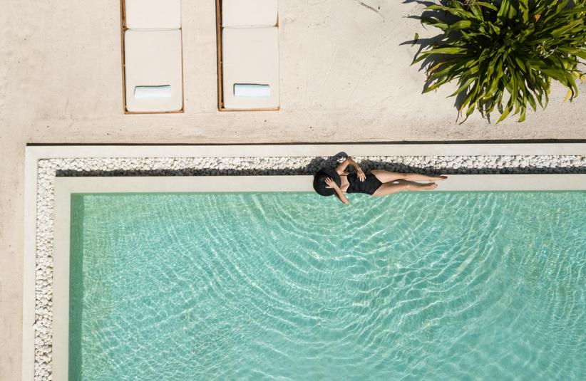 Amilla Fushi Luxury Resort and Residences - Baa Atoll, Maldives - Beach Villa Pool Deck