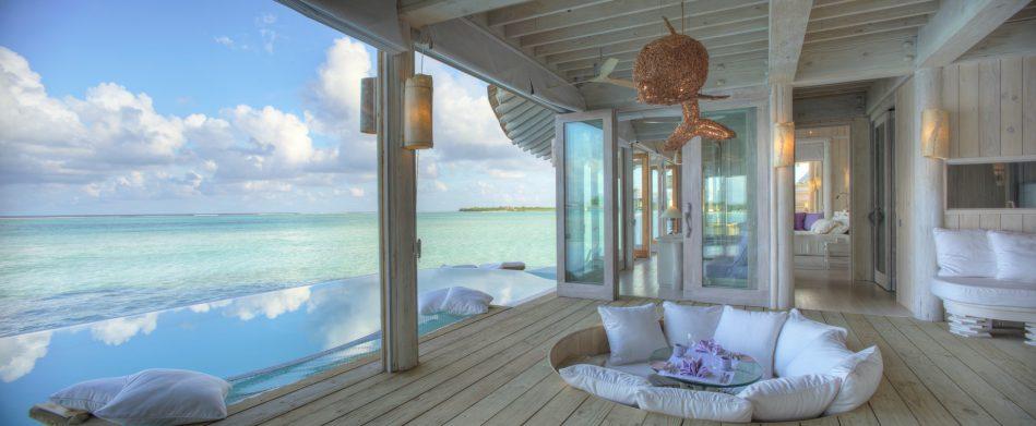 Soneva Jani Luxury Resort - Noonu Atoll, Medhufaru, Maldives - 2 Bedroom Water Retreat Pool Deck