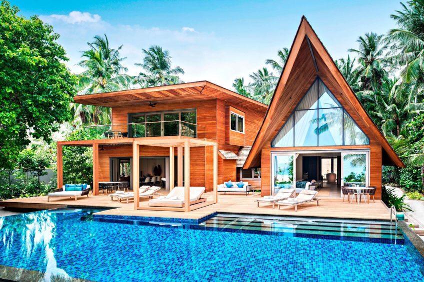 The St. Regis Maldives Vommuli Luxury Resort - Dhaalu Atoll, Maldives - Two Bedroom Beach Suite