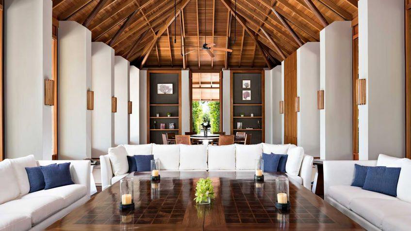 Amanyara Luxury Resort - Providenciales, Turks and Caicos Islands - 4 Bedroom Tranquility Villa Living Room