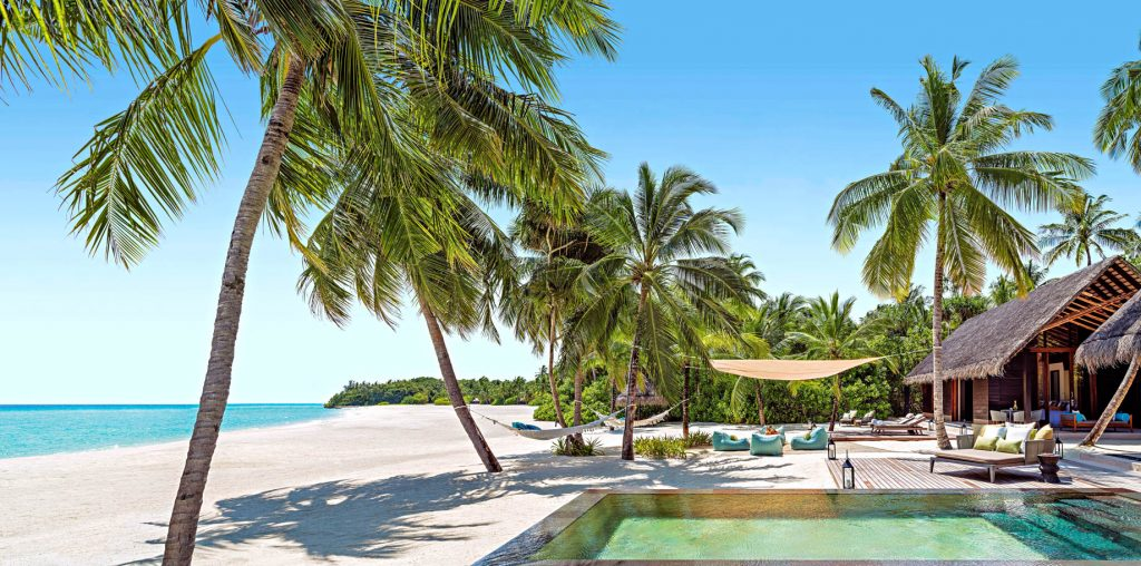 One&Only Reethi Rah Luxury Resort - North Male Atoll, Maldives - Two Villa Residence with Pool Beachfront Luxury