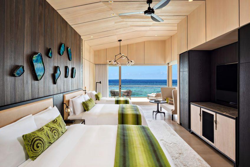 The St. Regis Maldives Vommuli Luxury Resort - Dhaalu Atoll, Maldives - Queen Twin Two Bedroom Beach Villa