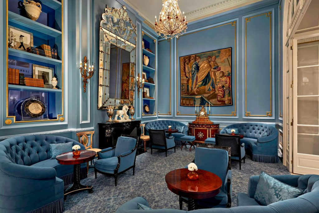 The St. Regis Rome Luxury Hotel - Rome, Italy - Library