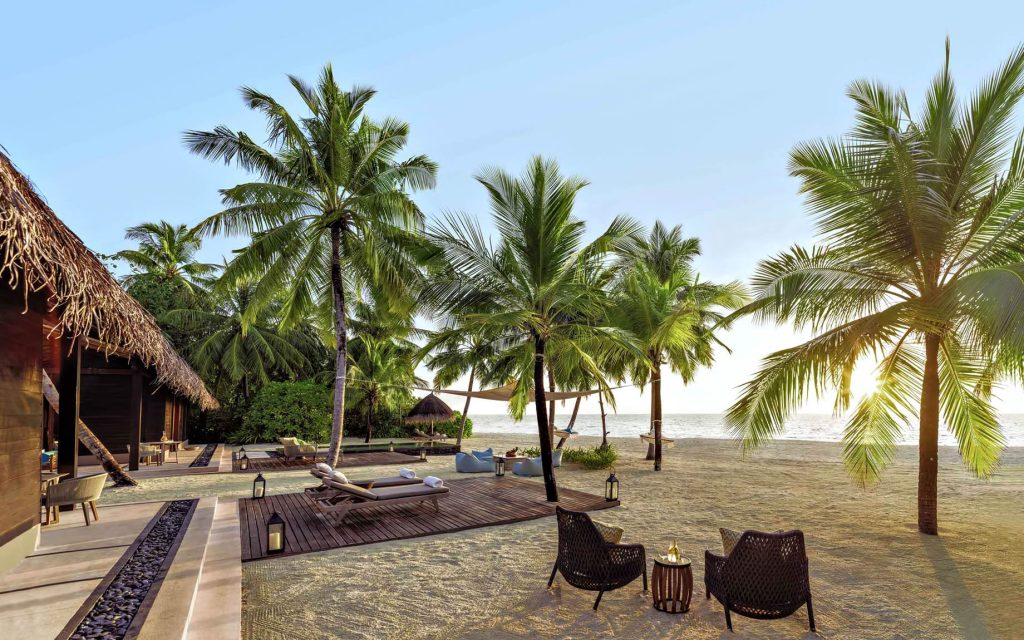 One&Only Reethi Rah Luxury Resort - North Male Atoll, Maldives - Two Villa Residence with Pool Beachfront