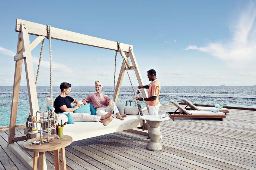 Waldorf Astoria Maldives Ithaafushi Luxury Resort - Ithaafushi Island, Maldives - Resort Private Island Villa Overwater Deck