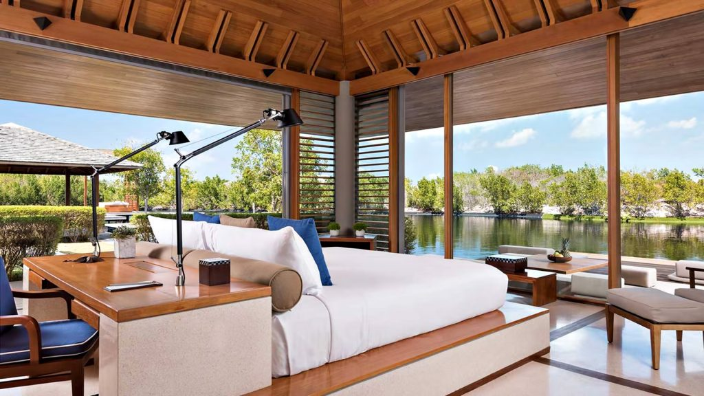 Amanyara Luxury Resort - Providenciales, Turks and Caicos Islands - 4 Bedroom Tranquility Villa Bedroom Waterview