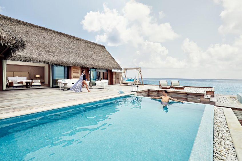 Waldorf Astoria Maldives Ithaafushi Luxury Resort - Ithaafushi Island, Maldives - Resort Private Island Villa Overwater Infinity Pool