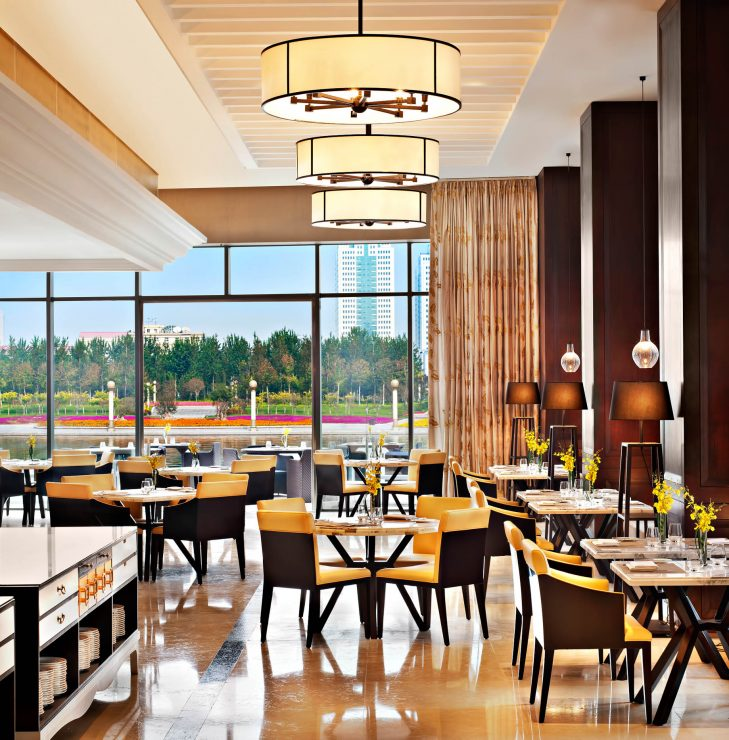 The St. Regis Tianjin Luxury Hotel - Tianjin, China - Promenade Restaurant