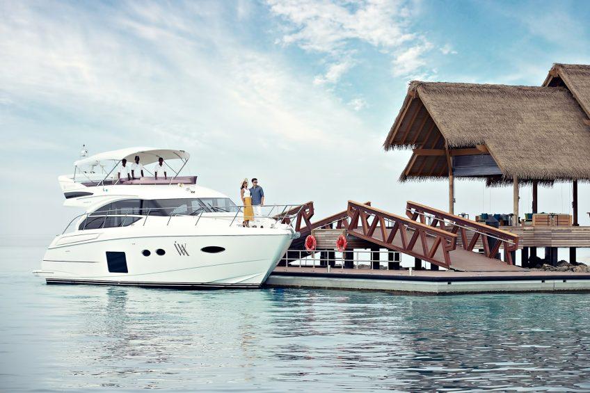 Waldorf Astoria Maldives Ithaafushi Luxury Resort - Ithaafushi Island, Maldives - Resort Private Island Yacht Dock