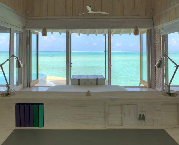 Soneva Jani Luxury Resort - Noonu Atoll, Medhufaru, Maldives - 2 Bedroom Water Retreat Villa Bedroom View