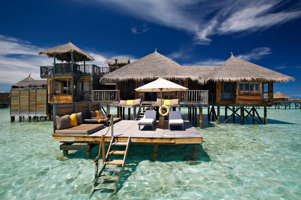 Gili Lankanfushi Luxury Resort - North Male Atoll, Maldives - Overwater Villa Ocean View Deck