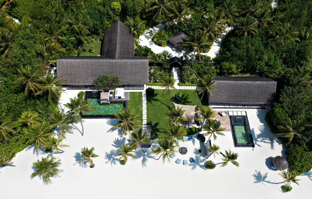 One&Only Reethi Rah Luxury Resort - North Male Atoll, Maldives - Grand Beach Villa with Pool