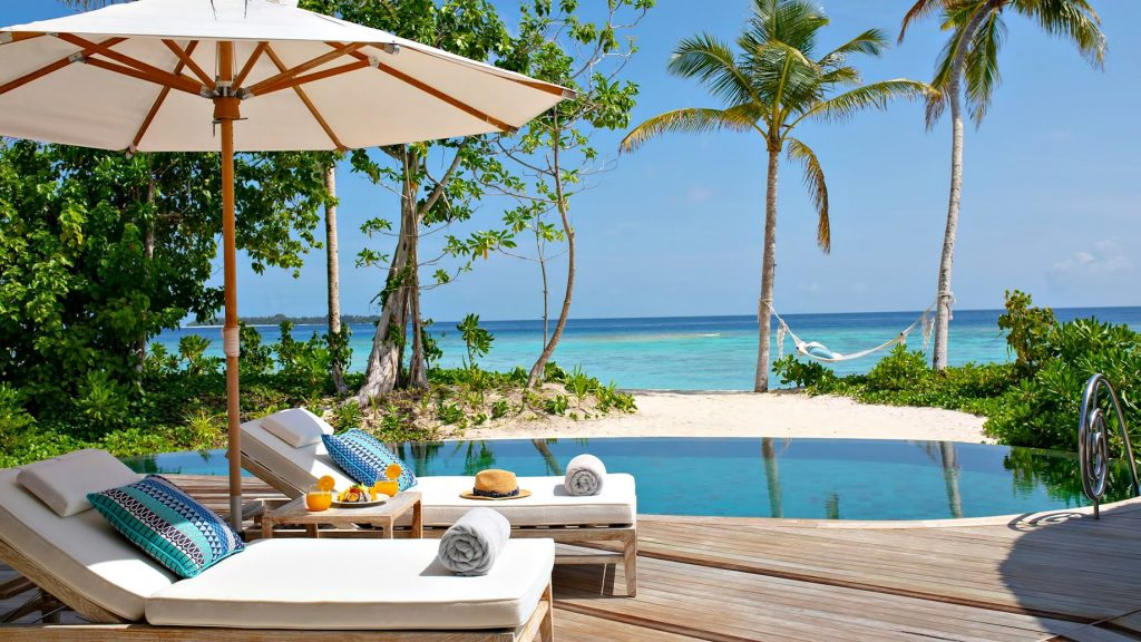 The Nautilus Maldives Luxury Resort - Thiladhoo Island, Maldives - Beach House Pool