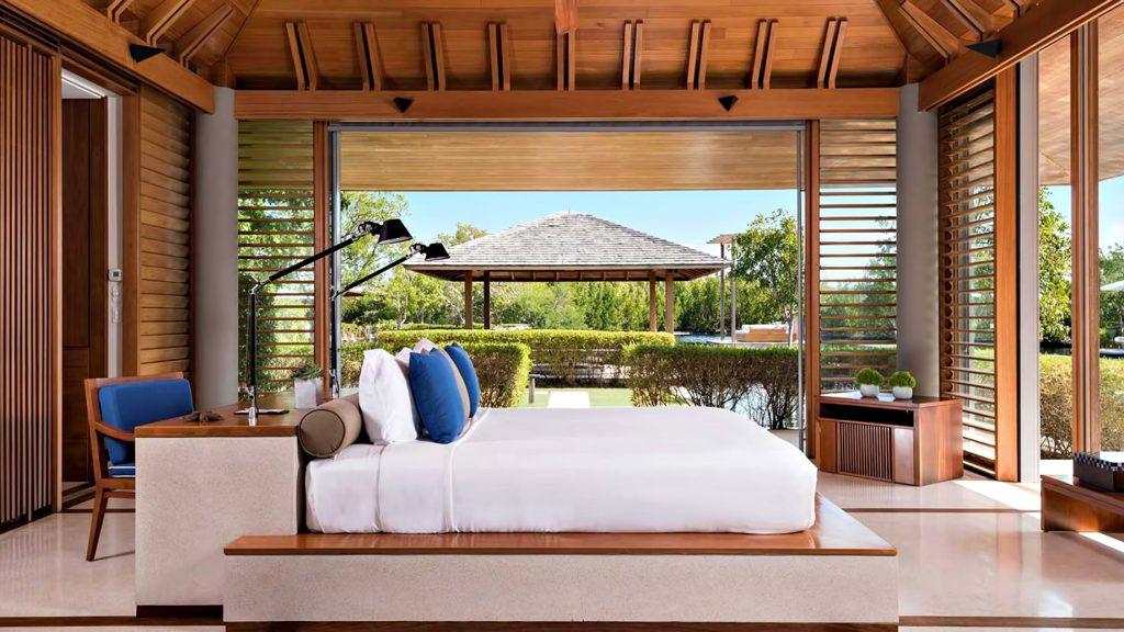 Amanyara Luxury Resort - Providenciales, Turks and Caicos Islands - 4 Bedroom Tranquility Villa Bedroom